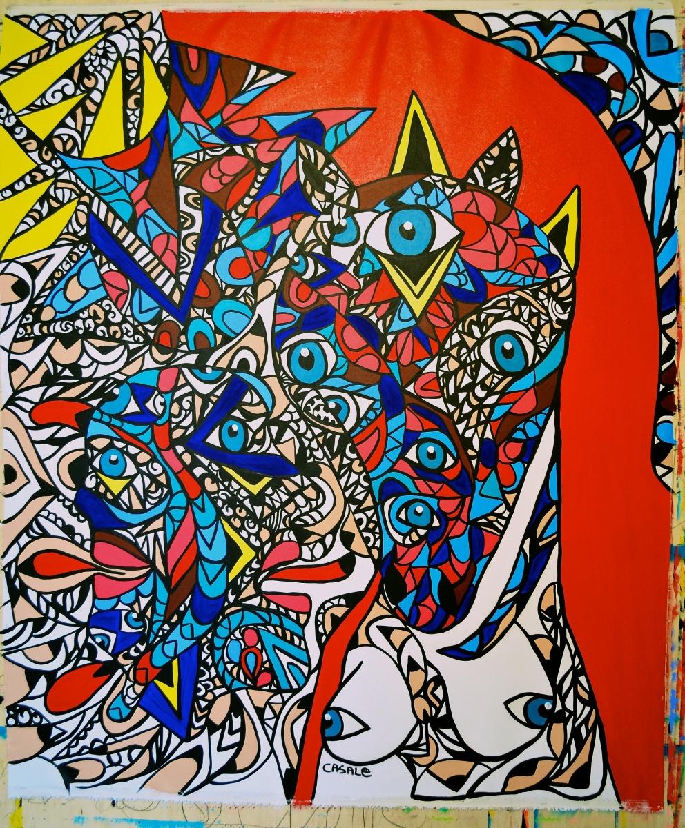 "Incandescent Desire, 2012 (50"" x 60"")"