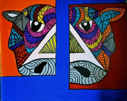 """Aquiles, 2014 (65 x 55"""")"""